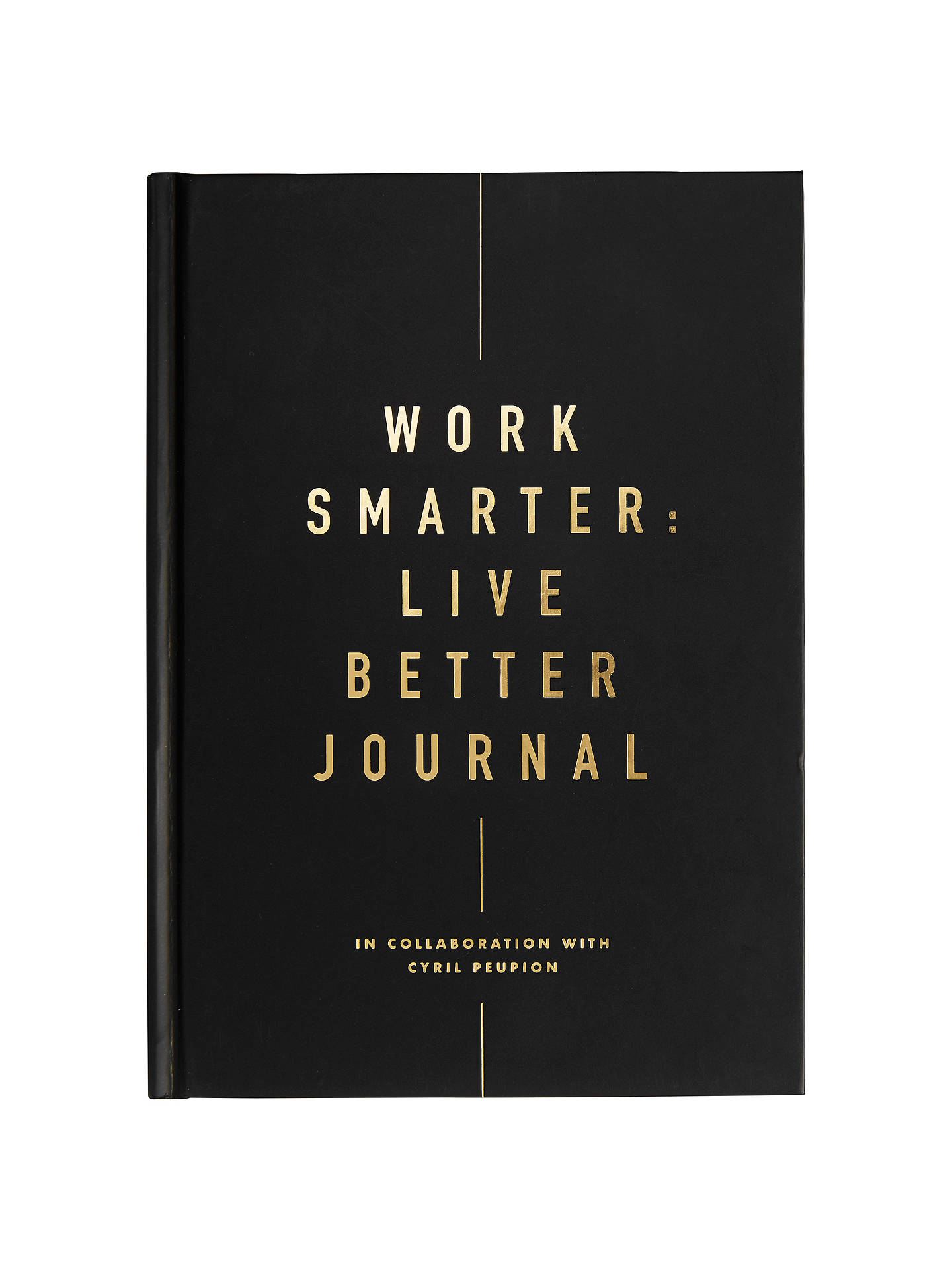 Buykikki.K Work Smarter Live Better Journal Online at johnlewis.com