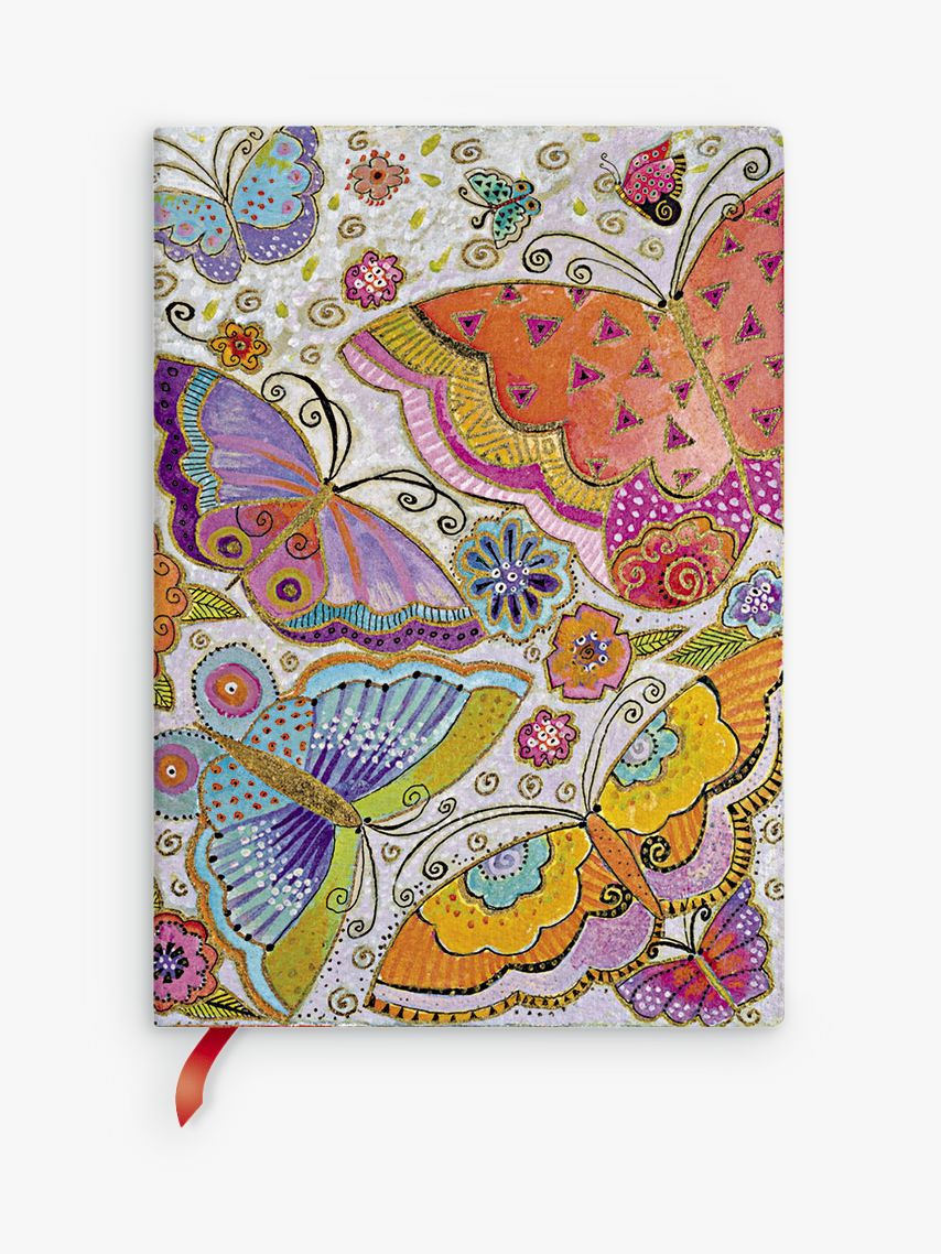 Paperblanks Paperblanks Flexi Flutterbyes Midi Journal, Multi
