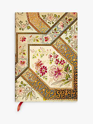Paperblanks Flexi Filigree Floral Ivory Journal, Multi
