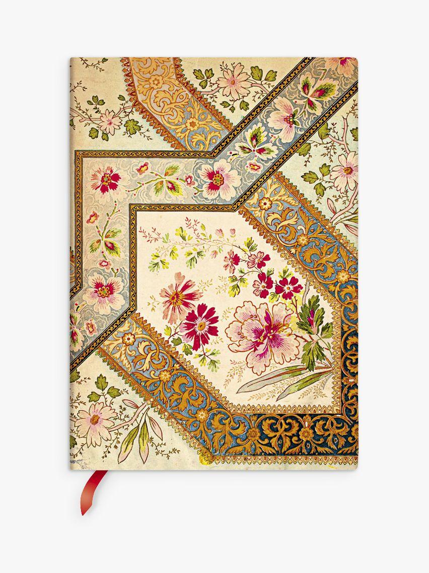 Paperblanks Paperblanks Flexi Filigree Floral Ivory Journal, Multi