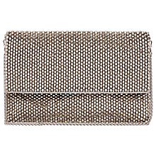 Buy Reiss Beaded Shoulder Bag, Silver Online at johnlewis.com