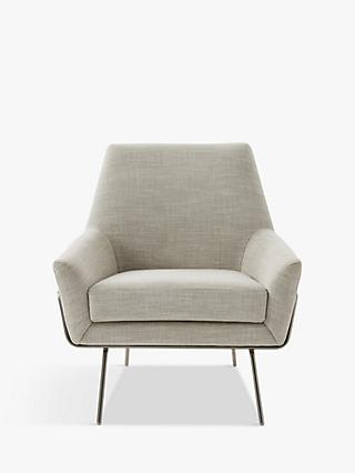 west elm Lucas Chair, Linen Weave