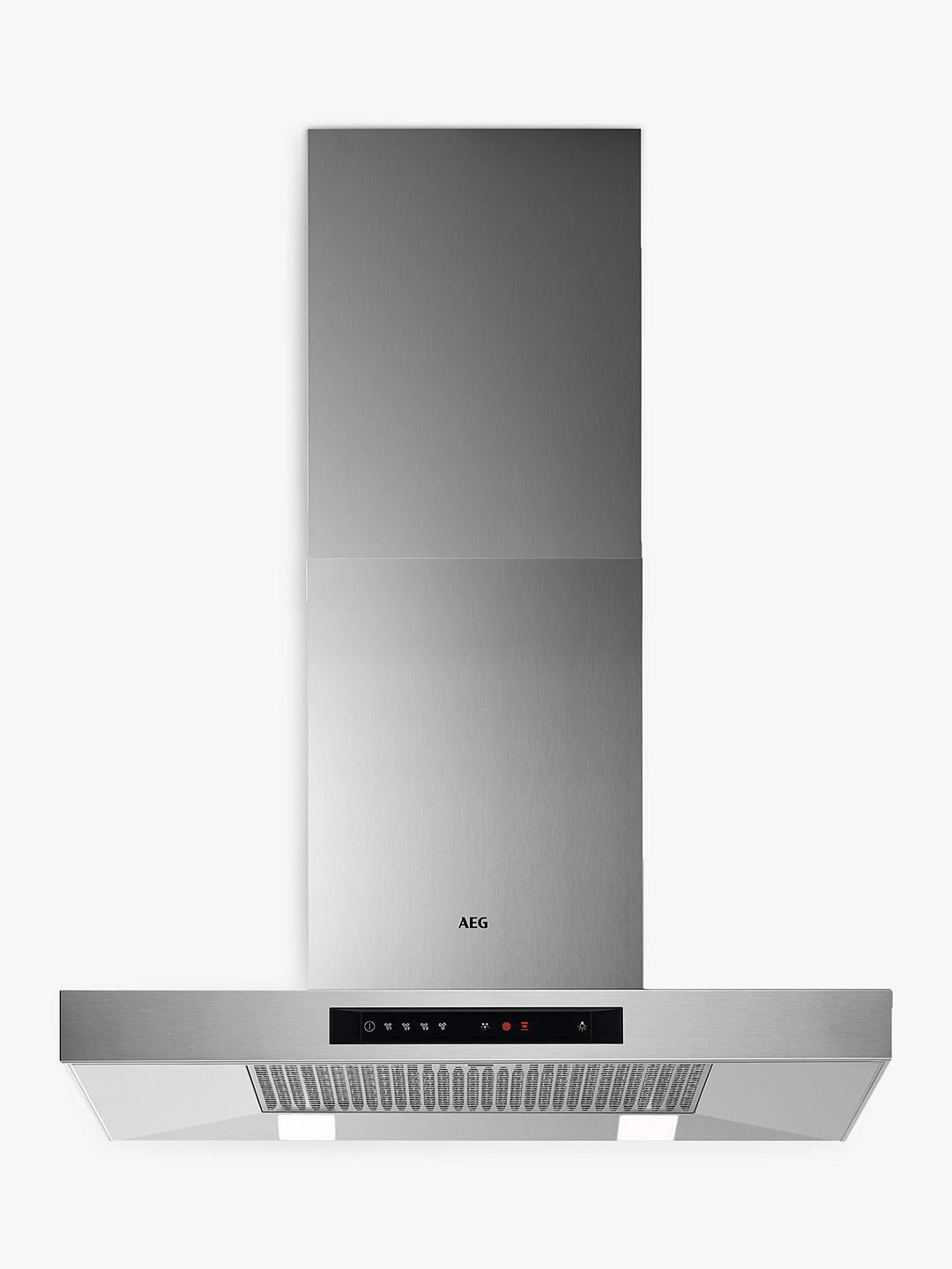 Buy AEG DBB5760HM Chimney Cooker Hood, Stainless Steel Online at johnlewis.com