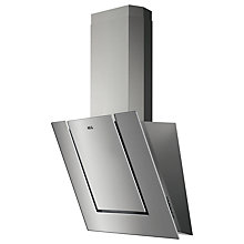 Buy AEG DVB3550M Angled Chimney Cooker Hood, Stainless Steel Online at johnlewis.com