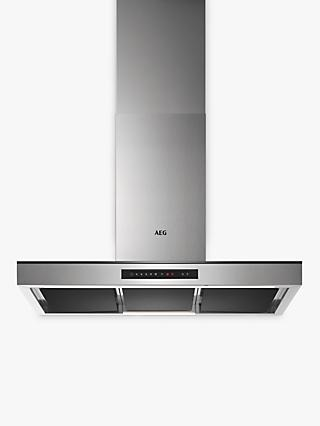 AEG DBK7990HG Chimney Cooker Hood, Stainless Steel