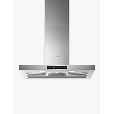 AEG DBE6980HM Chimney Cooker Hood, Stainless Steel