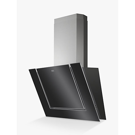 buy aeg dvk6980hb angled chimney cooker hood stainless. Black Bedroom Furniture Sets. Home Design Ideas