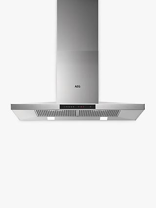 AEG DKB5960HM Chimney Cooker Hood, Stainless Steel
