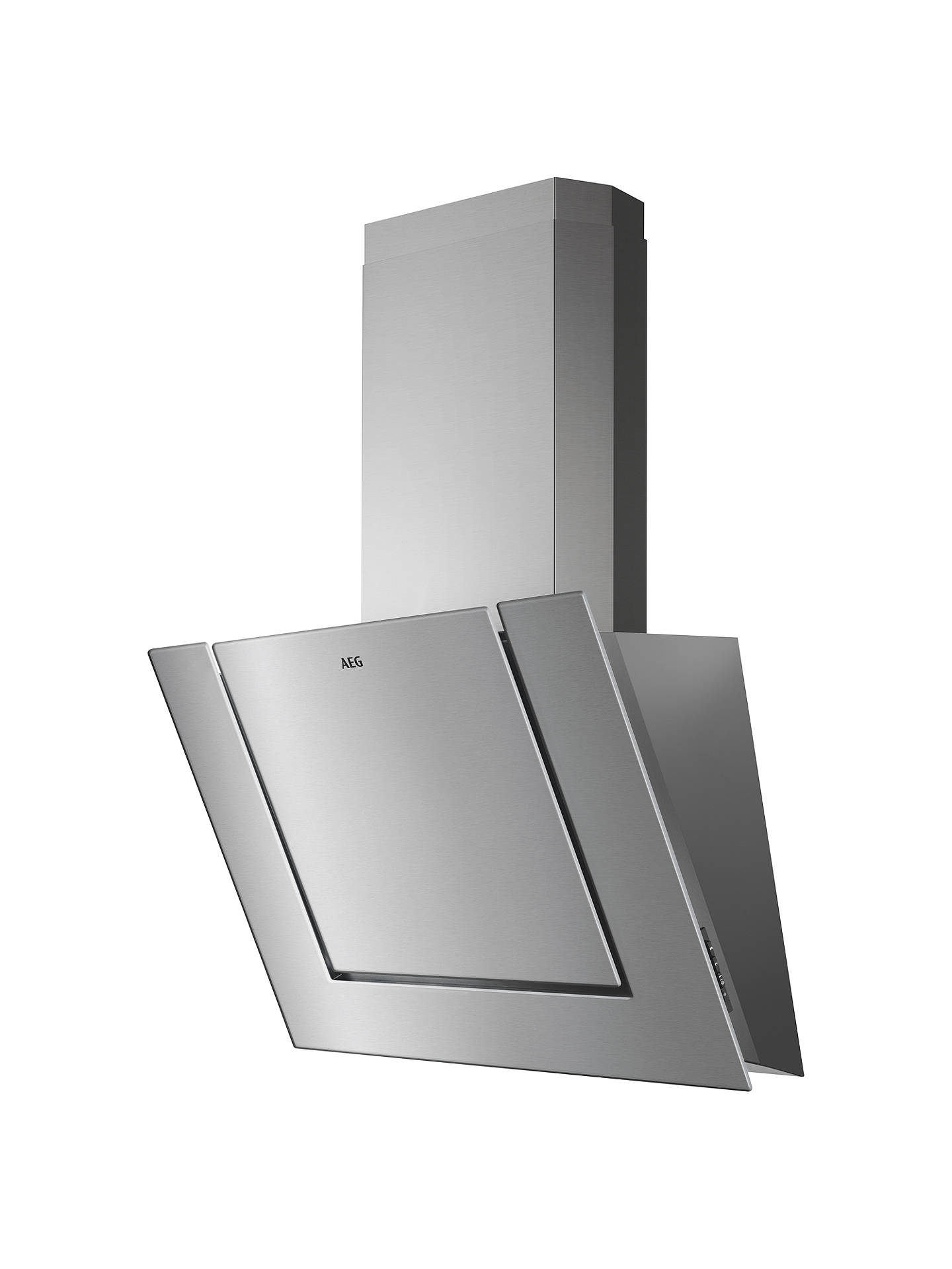 Buy AEG DVB3850M Angled Chimney Cooker Hood, Stainless Steel Online at johnlewis.com