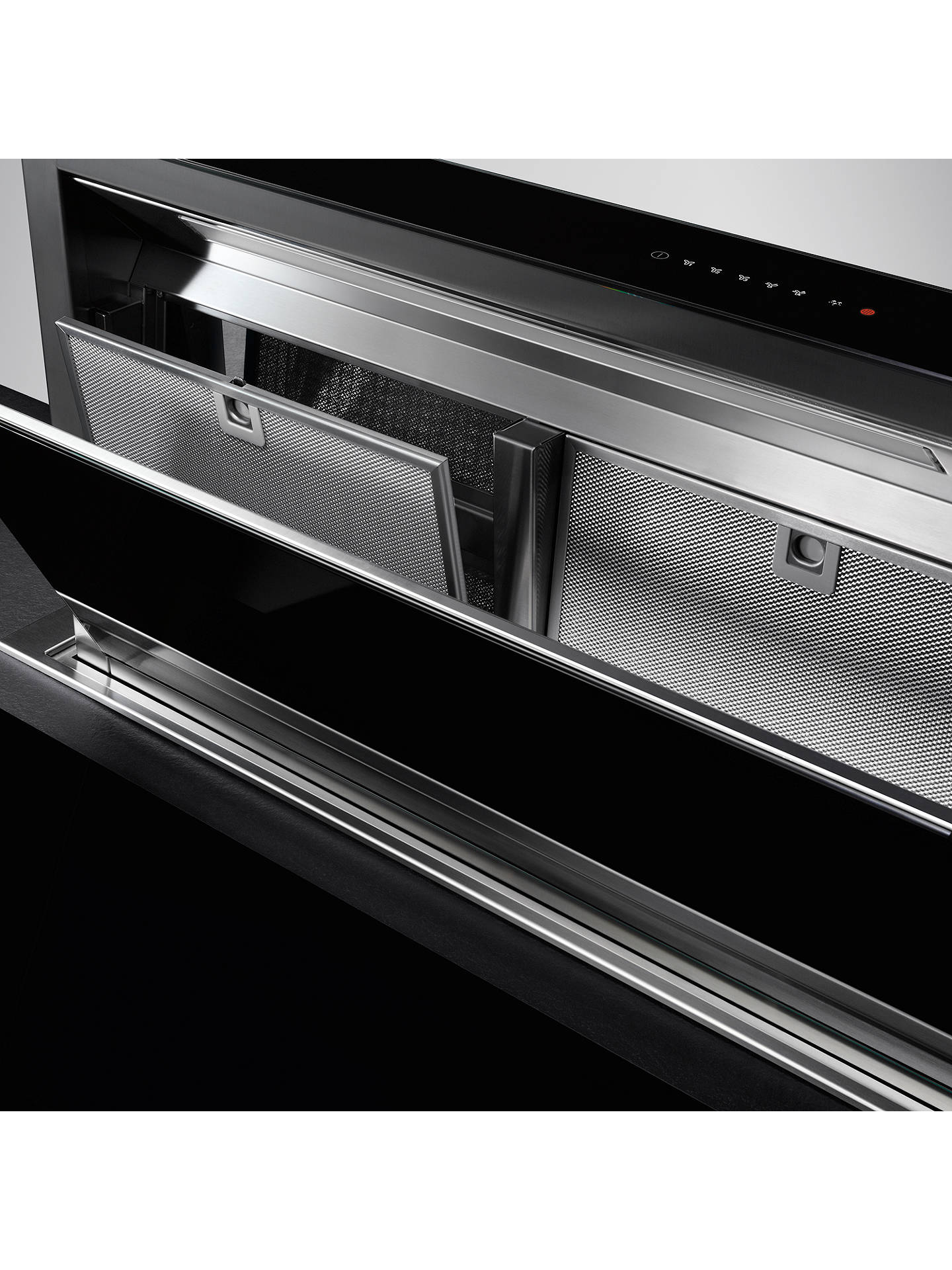 Buy AEG DDE5980G Downdraft Cooker Hood, Stainless Steel Online at johnlewis.com