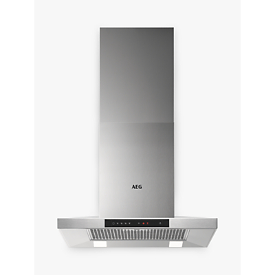 AEG DKB5660HM Chimney Cooker Hood, Stainless Steel