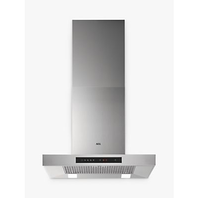 AEG DBB5660HM Chimney Cooker Hood, Stainless Steel