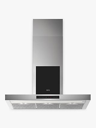 AEG DBK6980SG Chimney Cooker Hood, Stainless Steel