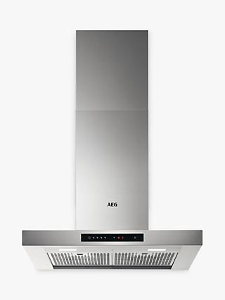 AEG DBE6780HM Chimney Cooker Hood, Stainless Steel