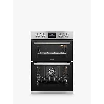 Zanussi ZOD35802X Built-in Double Oven, Stainless Steel Review thumbnail