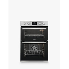 Buy Zanussi ZOD35802X Built-in Double Oven, Stainless Steel Online at johnlewis.com
