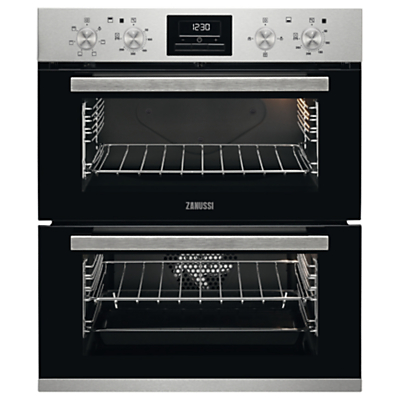 Zanussi ZOF35601XK Built-under Double Electric Oven, Stainless Steel Review thumbnail