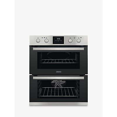 Zanussi ZOF35802XK Built-in Double Electric Oven, Stainless Steel Review thumbnail