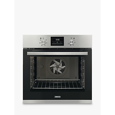 Zanussi ZOA35471XK Built-in Single Electric Oven, Stainless Steel