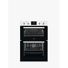 Buy Zanussi ZOD35661WK Built-In Double Electric Oven, White Online at johnlewis.com