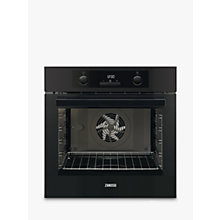 Buy Zanussi ZOA35972BK Built-in Single Electric Oven, Black Online at johnlewis.com