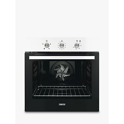 Zanussi ZOB31471WK Built-In Multifunction Single Oven, White Review thumbnail