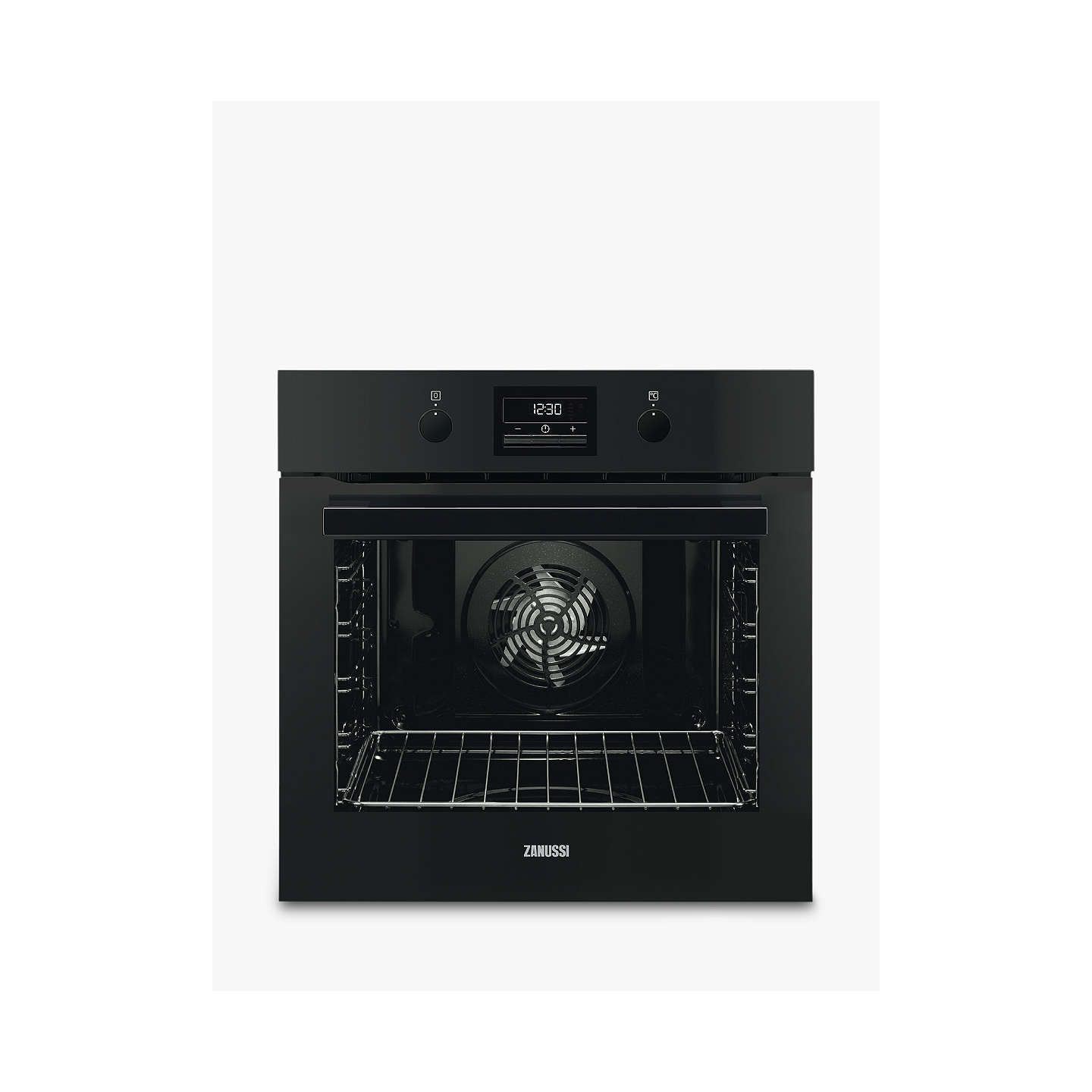 zanussi zop37972bk built in single electric oven black at john lewis rh johnlewis com
