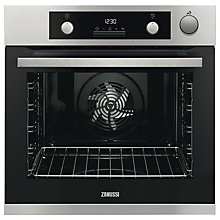 Buy Zanussi ZOS37972XK Built-In Single Electric Oven, Stainless Steel Online at johnlewis.com