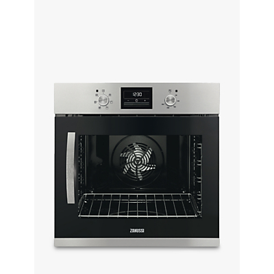 Zanussi ZOA35676XK Built-In Single Electric Oven, Stainless Steel Review thumbnail