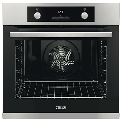 Zanussi ZOP37982XC Built-In Single Electric Oven, Stainless Steel Review thumbnail