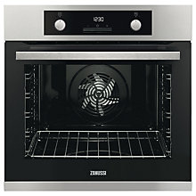 Buy Zanussi ZOP37982XC Built-In Single Electric Oven, Stainless Steel Online at johnlewis.com