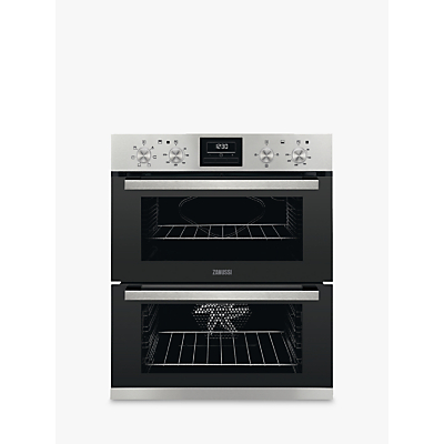 Zanussi ZOF35661XK Built Under Double Oven, Stainless Steel Review thumbnail