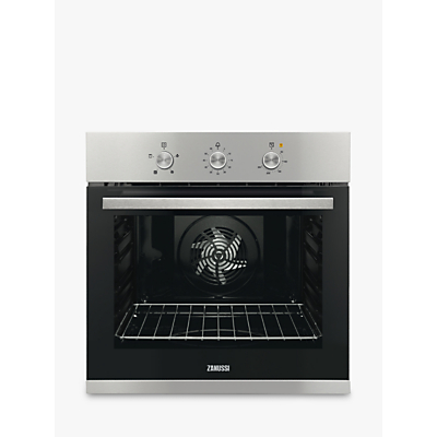 Zanussi ZOB31471XK Built-In Multifunction Single Oven, Stainless Steel Review thumbnail