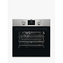 Buy Zanussi ZZB35901XA Built-In Electric Single Oven, Stainless Steel Online at johnlewis.com