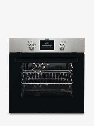Zanussi ZZB35901XA Built-In Electric Single Oven, Stainless Steel