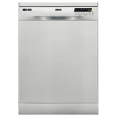 Zanussi ZDF26004XA Freestanding Dishwasher, Stainless Steel