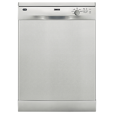 Zanussi ZDF22002XA Freestanding Dishwasher, Stainless Steel