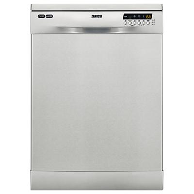 Zanussi ZDF26020XA Freestanding Dishwasher, Stainless Steel