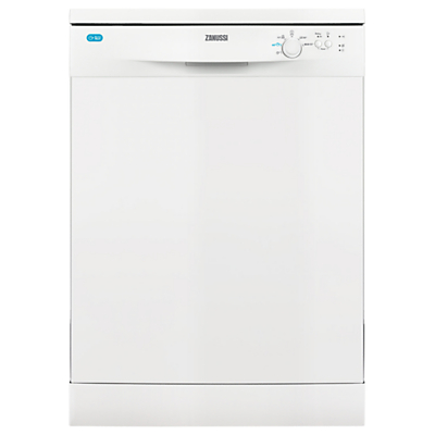 Zanussi ZDF22002WA Freestanding Dishwasher, White
