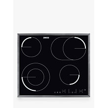 Buy Zanussi ZEV6646XBA Built In Ceramic Hob, Black Online at johnlewis.com
