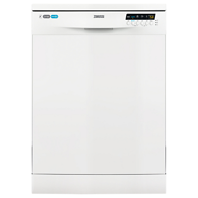 Zanussi ZDF26020WA Freestanding Dishwasher, White