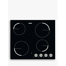 Buy Zanussi ZV694NK Electric Ceramic Hob, Black Online at johnlewis.com