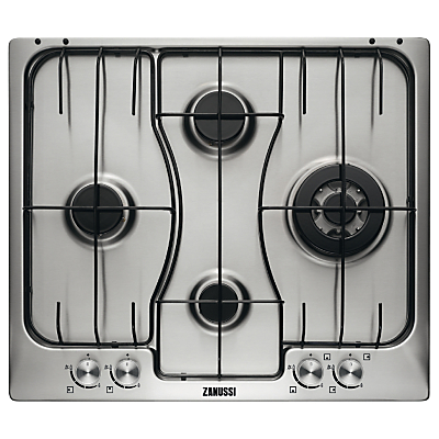 Zanussi ZGX65424XS Gas Hob, Stainless Steel Review thumbnail