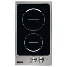 Buy Zanussi ZES3921IBS Built In Ceramic Hob, Black Online at johnlewis.com