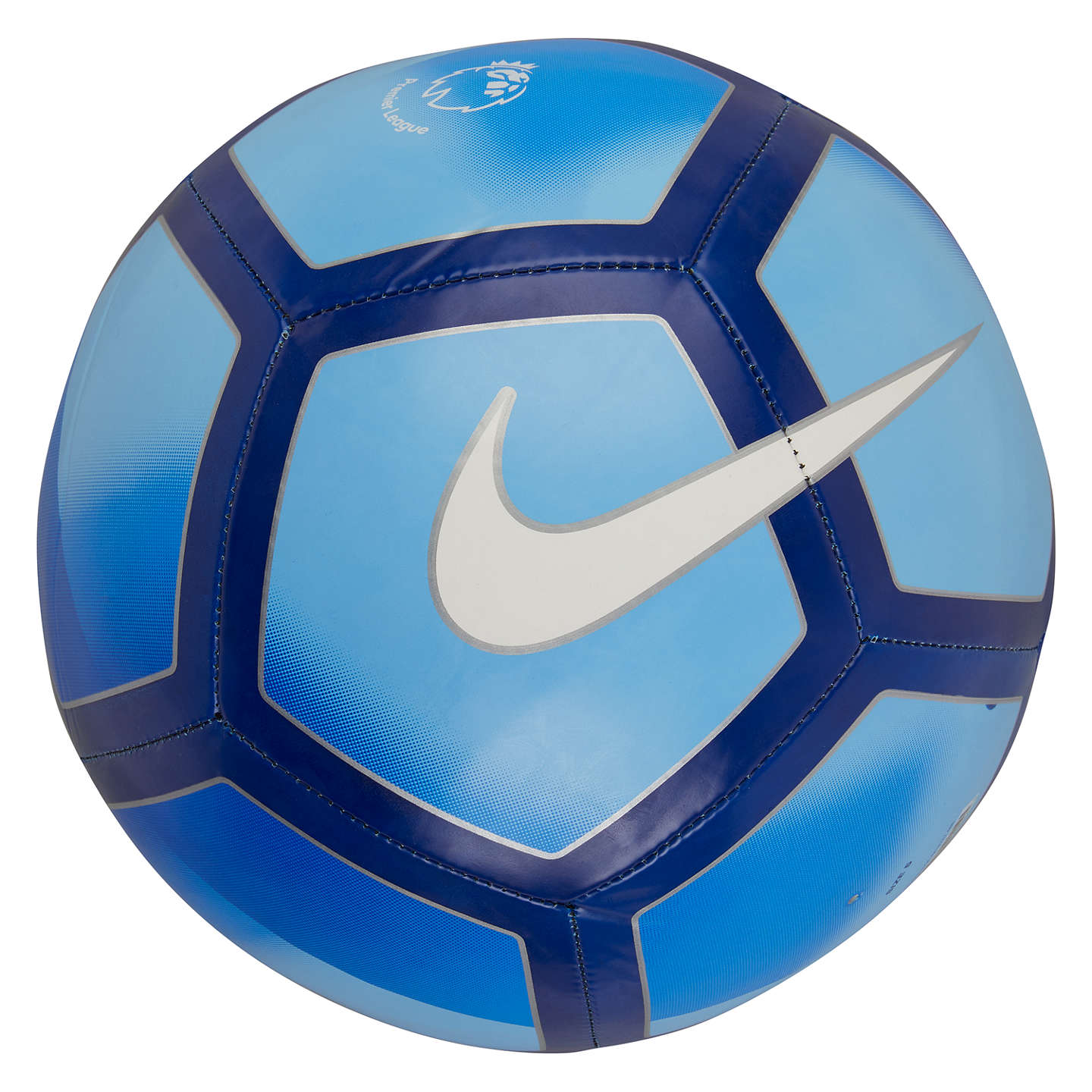 Buynike Premier League Pitch Football, Size 5, Bluewhite Online At