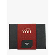 Buy Pana Chocolate I Love You Gift Pack, 180g Online at johnlewis.com