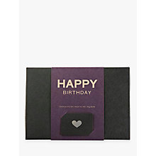 Buy Pana Chocolate Happy Birthday Gift Pack, 180g Online at johnlewis.com