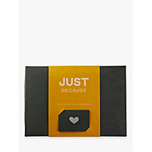 Buy Pana Chocolate Just Becasue Chocolate Gift Pack, 180g Online at johnlewis.com
