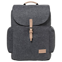 Buy Eastpak Austin Felt Backpack, Grey Online at johnlewis.com