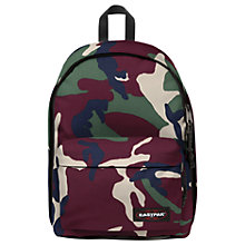 Buy Eastpak Out Of Office Backpack, Camo Green Online at johnlewis.com